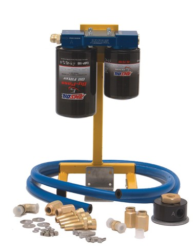 Marine Dual Remote Oil Filtration System