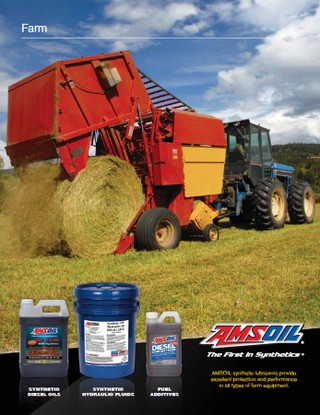 Synthetic Lubricants for Farming Equipment