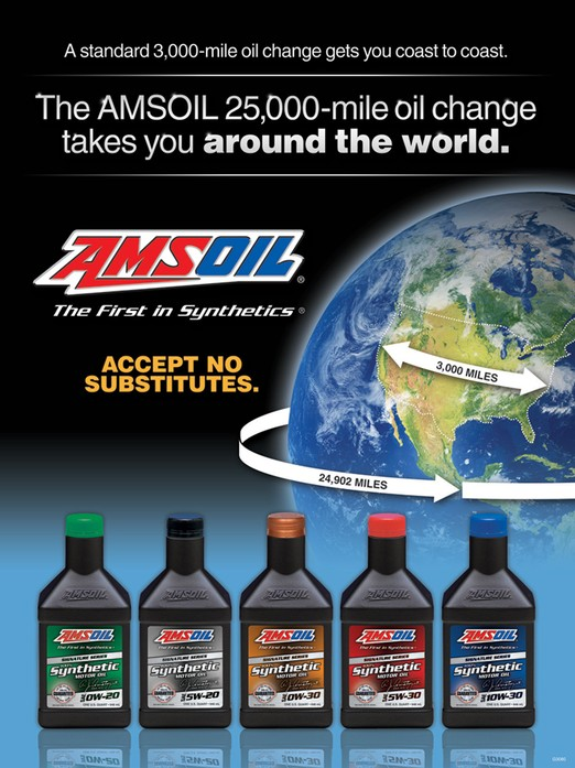 AMSOIL Signature Series Full Synthrtic Motor Oils