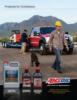 Synthetic Lubricants forConstruction Equipment